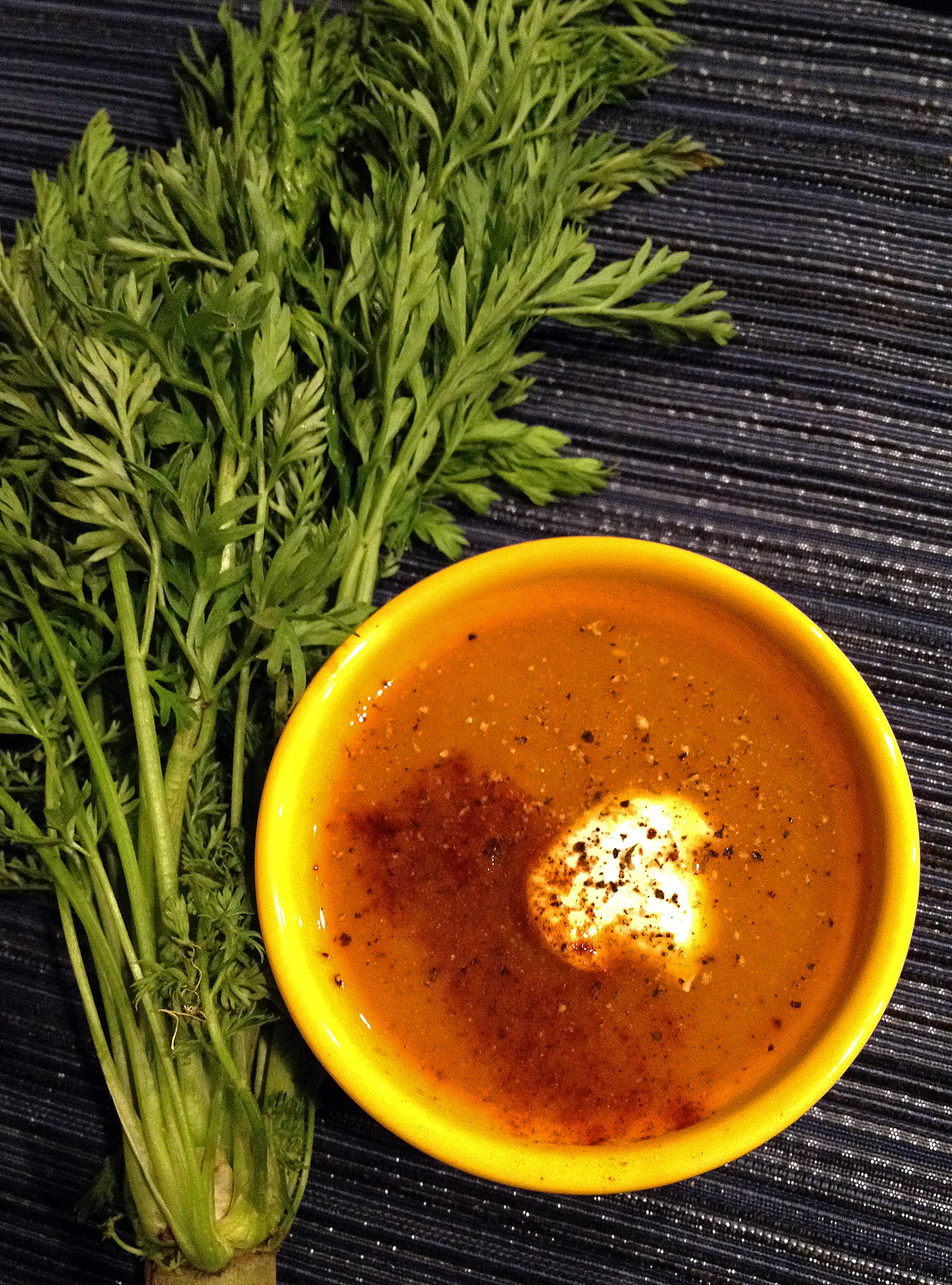 Morroccan Carrot Soup