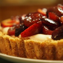 Cherry Amaretto Tart
